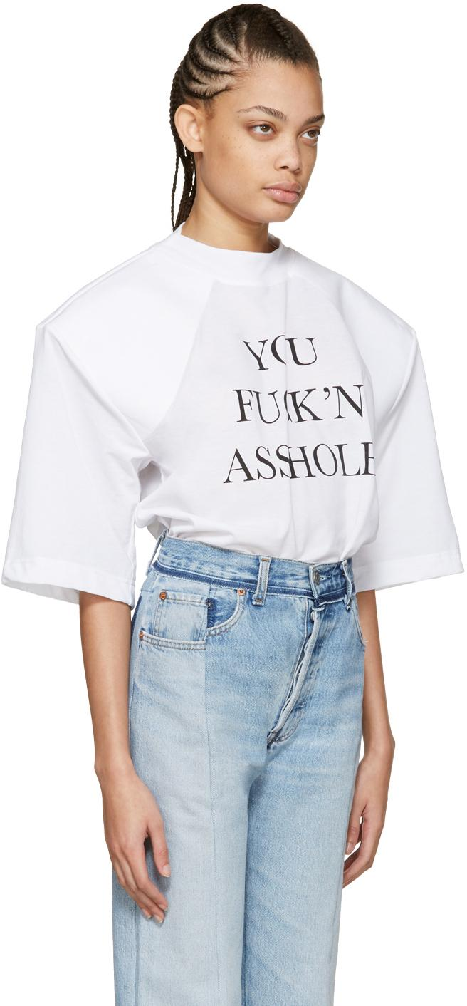 Fucking asshole tee shirt