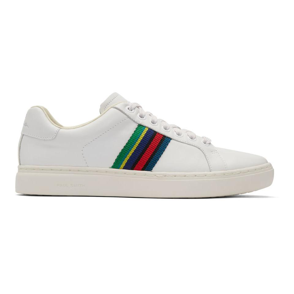 Paul Smith Men's Lapin Leather Cupsole Trainers - - UK 10
