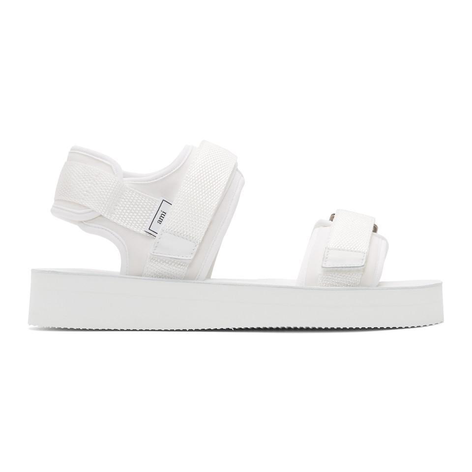 White Neoprene Sandals Ami vzlnfHCrhh