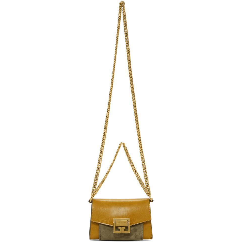Tan Nano GV3 Belt Bag Pouch Givenchy V8GVNRIj95