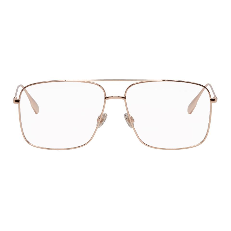 6db0af39920 Lyst - Dior Homme Gold Dior Stellaire 03 Glasses in Metallic for Men
