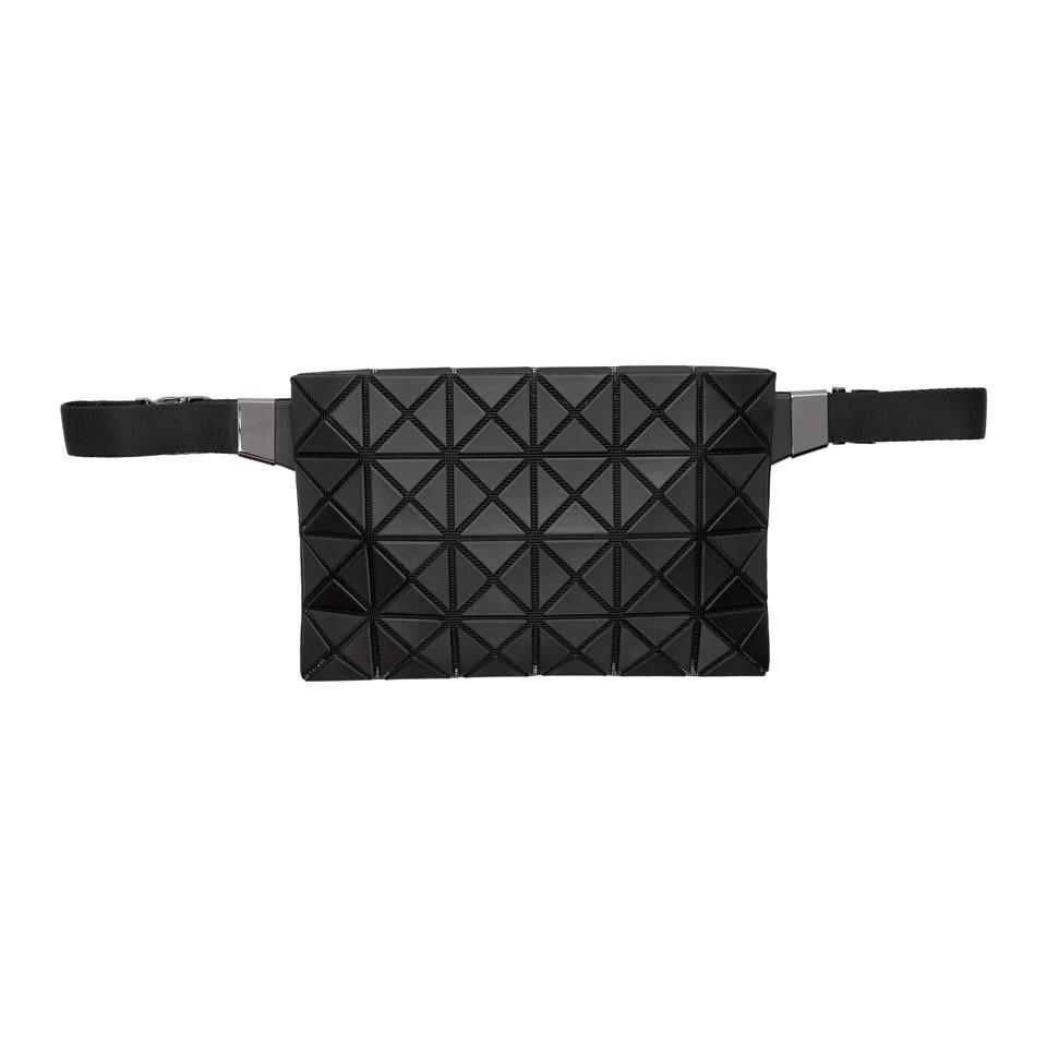 fe83923339 Lyst - Bao Bao Issey Miyake Black Matte Prism Waist Bag in Black for Men