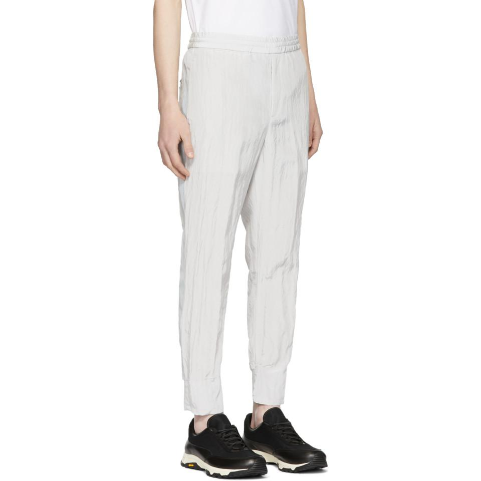 Low Shipping Fee Silver Reflective Sport Track Pants Neil Barrett Footlocker Sale Online Sale New Styles New And Fashion Buy Cheap Collections hCzMW2c