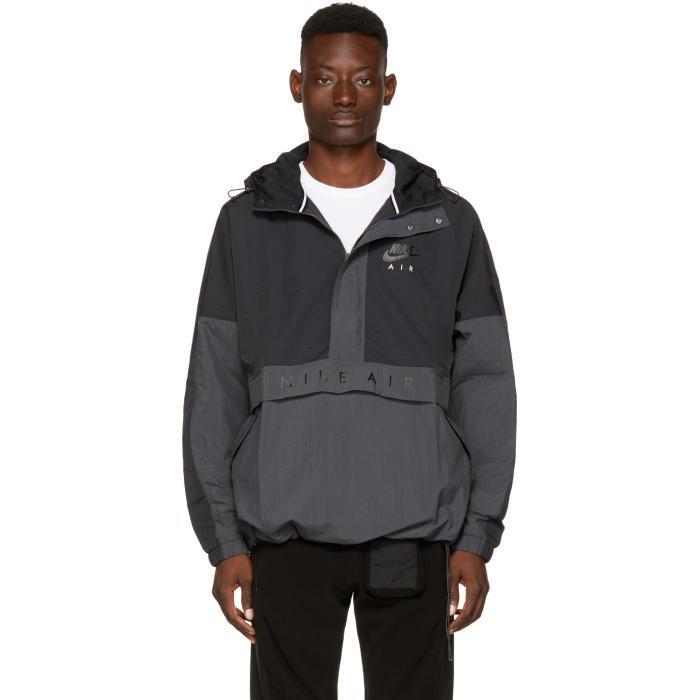 e6bdea189749 Lyst - Nike Black Nsw Hd Air Jacket in Black for Men