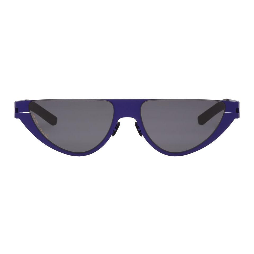 f56ee9d8b3aa13 Martine Rose Blue Mykita Edition Kitt Sunglasses in Blue for Men - Lyst