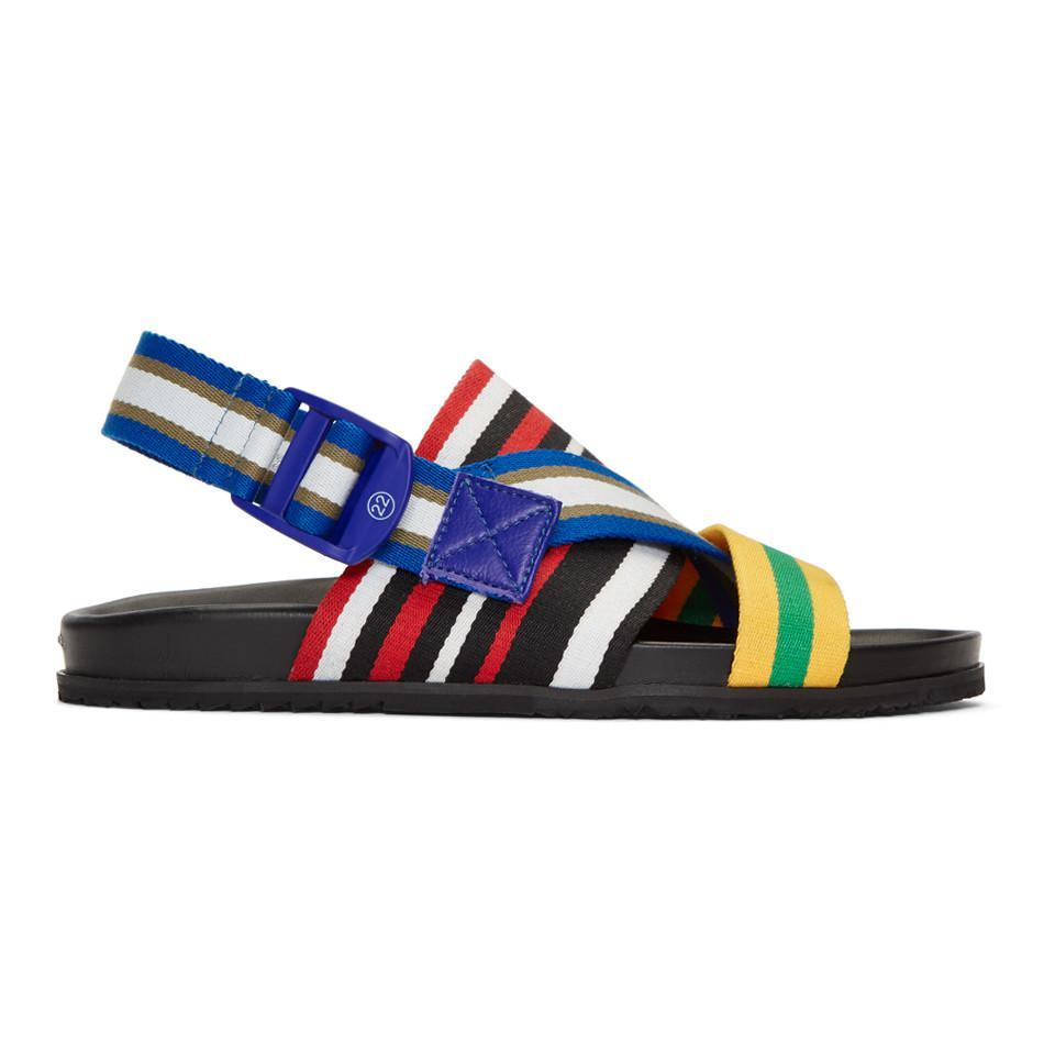 Maison Margiela Multicolor Stretch Nylon Sandals 3KA3a5F5e
