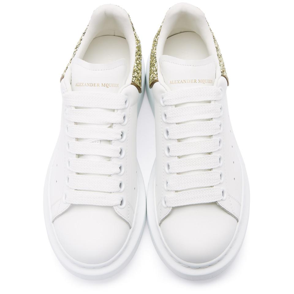 Alexander McQueen SSENSE Exclusive & Glitter Oversized Sneakers Free Shipping Inexpensive Discount Clearance Fashion Style Xxijwpx