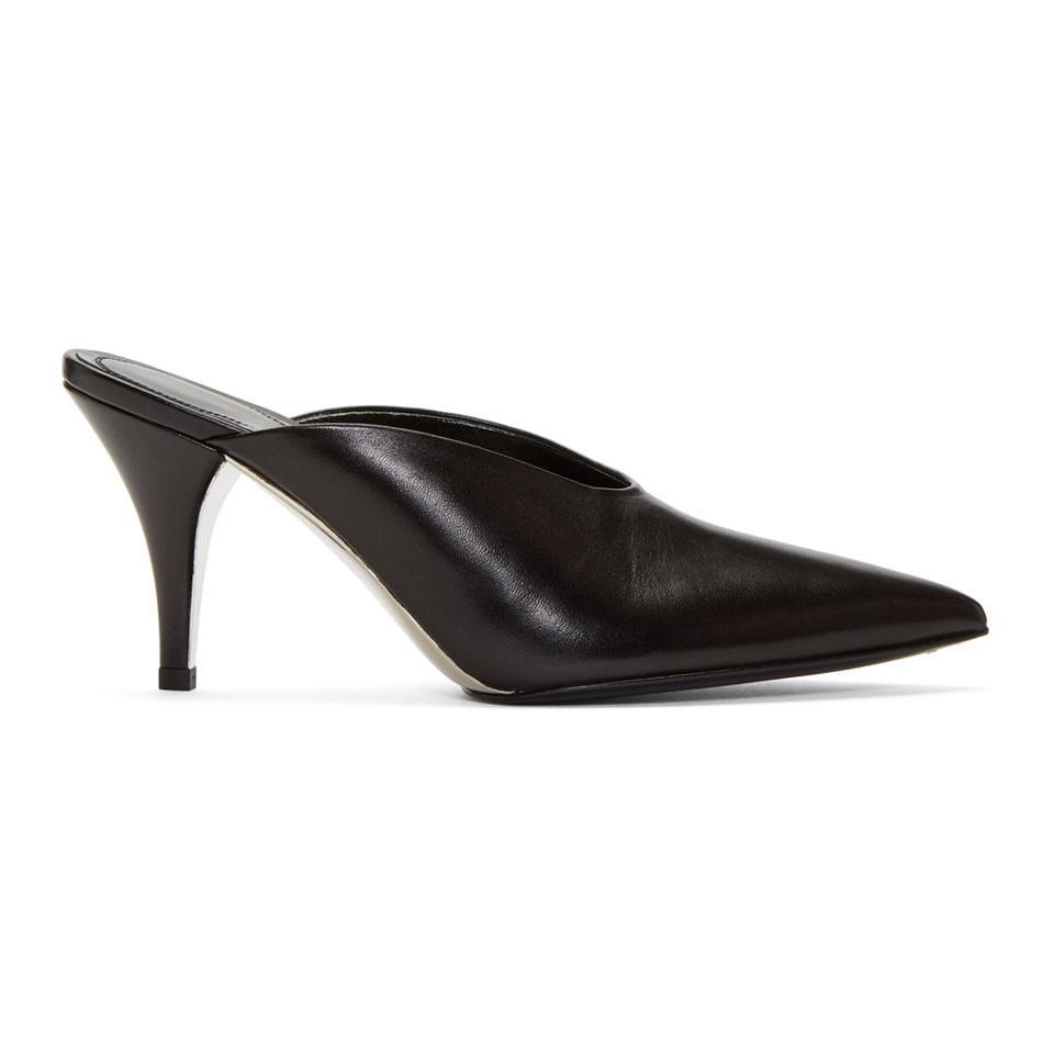 Calvin Klein Black Rosylnn Heels Prix pas Cher De Qualité Vente De La France Faible Vente D'expédition En Ligne 2018 Nouvelle phq2GBQGc