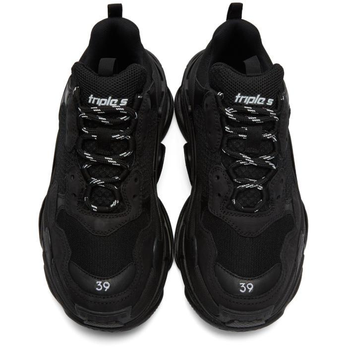 Lyst Balenciaga Triple S Sneakers In Black For Men