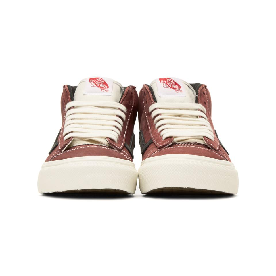 Brown OG Mid Skool Lite LX Sneakers Vans