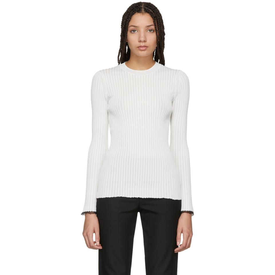 Off-White Lightweight Knit Sweater Proenza Schouler maM27qZs0