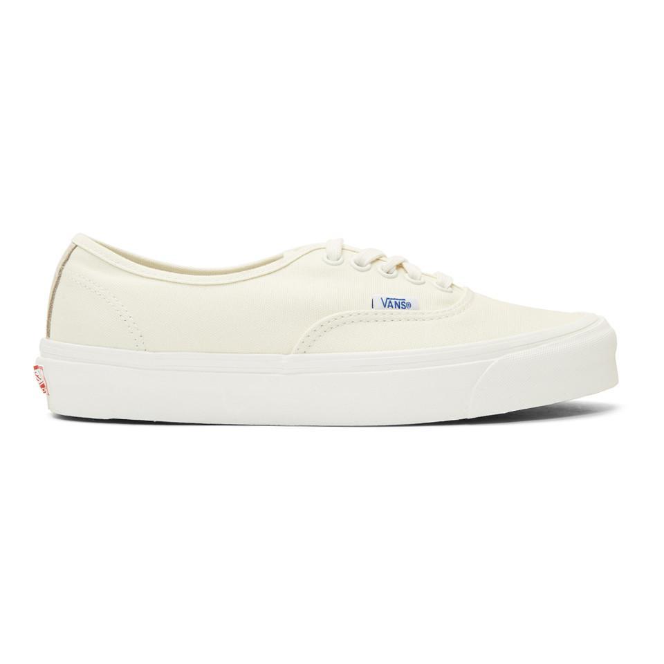 218e3a64e2 Vans - Natural Beige Og Authentic Lx Sneakers for Men - Lyst. View  fullscreen
