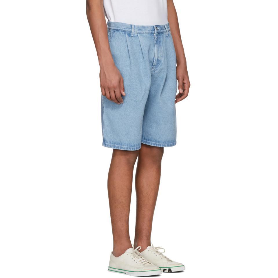 Sale The Cheapest Large Denim Short in Blue Gosha Rubchinskiy Sale Prices Outlet Footlocker Finishline mD95UYYTs