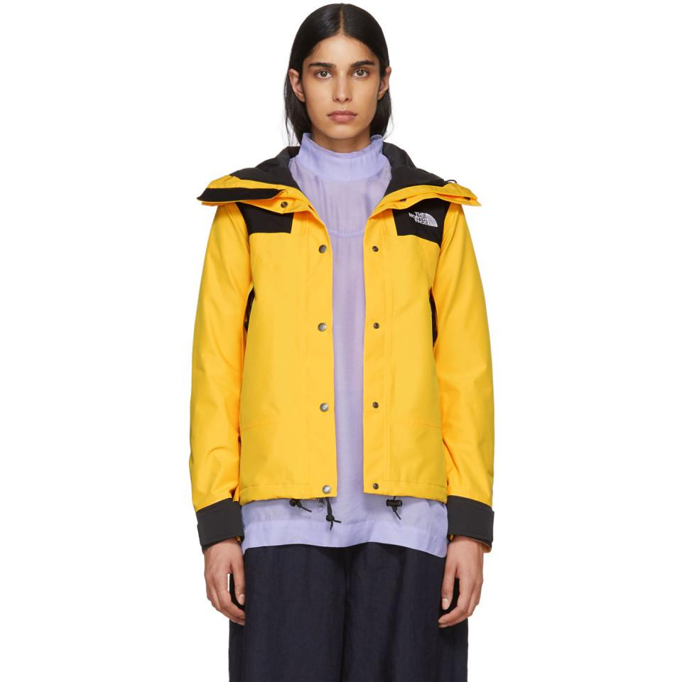 df35a8e748c670 The North Face Yellow And Black Gtx 1990 Mountain Jacket in Yellow ...