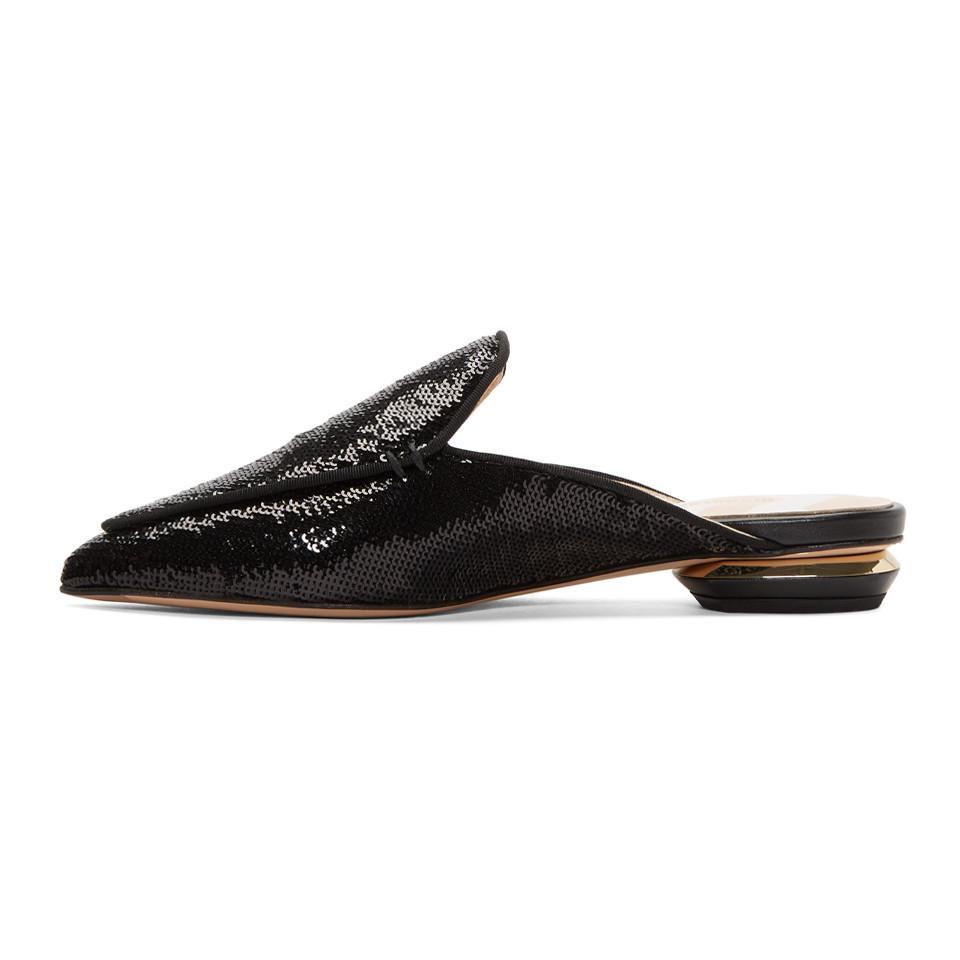 Sale Footlocker Finishline Discount Recommend Nicholas Kirkwood Sequin Beya Mules ookNTx