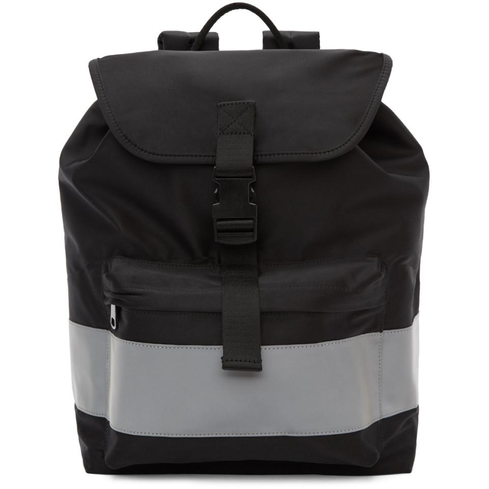 Lyst - A.P.C. Black Telio Backpack in Black for Men a2e192afcbcc