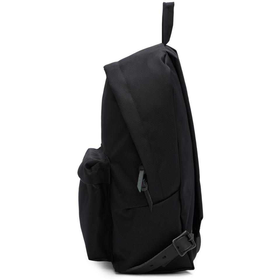 aef8851c17a1 Nanamica - Ssense Exclusive Black Twill Daypack Backpack for Men - Lyst.  View fullscreen