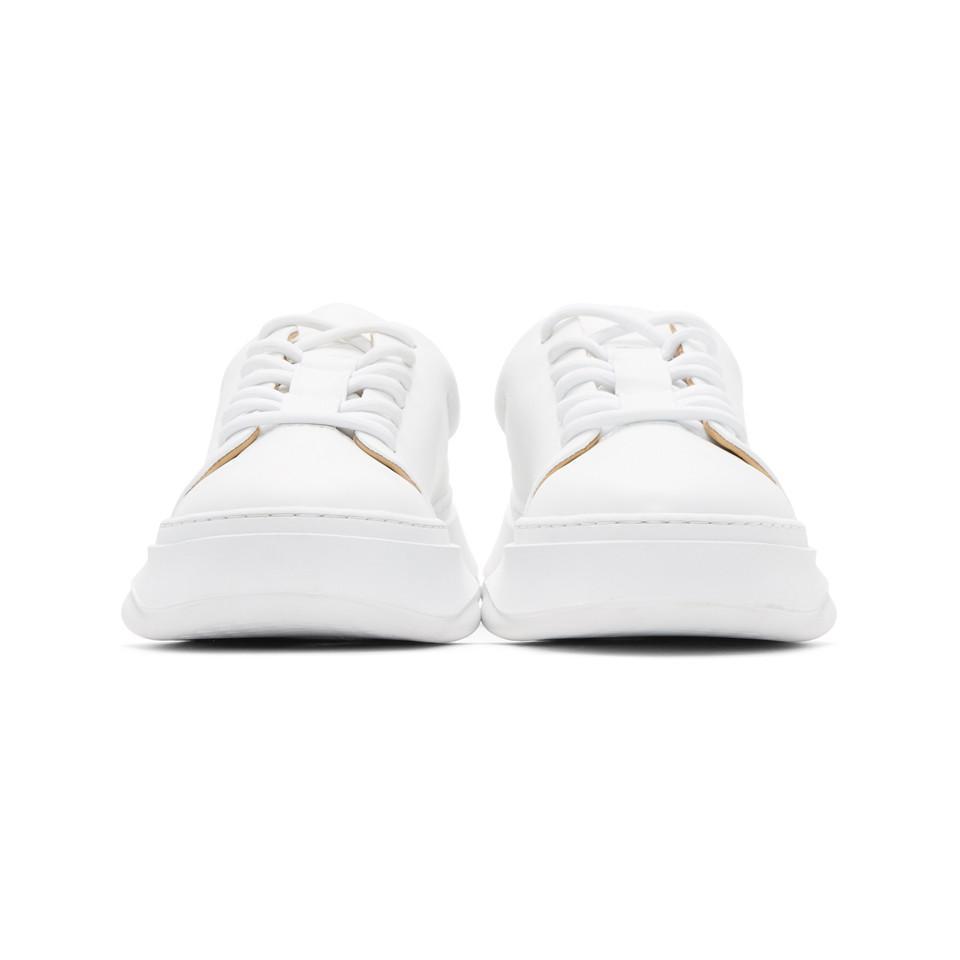 Miharayasuhiro White Low-Cut Sneakers 86paJZV