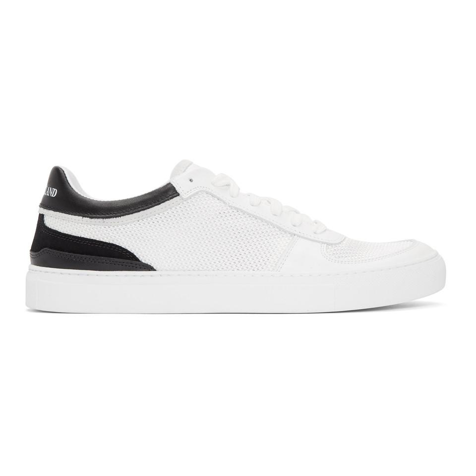 Stone Island & Mesh & Leather Sneakers Fast Express New Arrival Sale Online YaMw6r