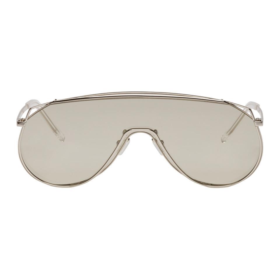 Silver Afix Shield Sunglasses Gentle Monster aGz3CNHfVA