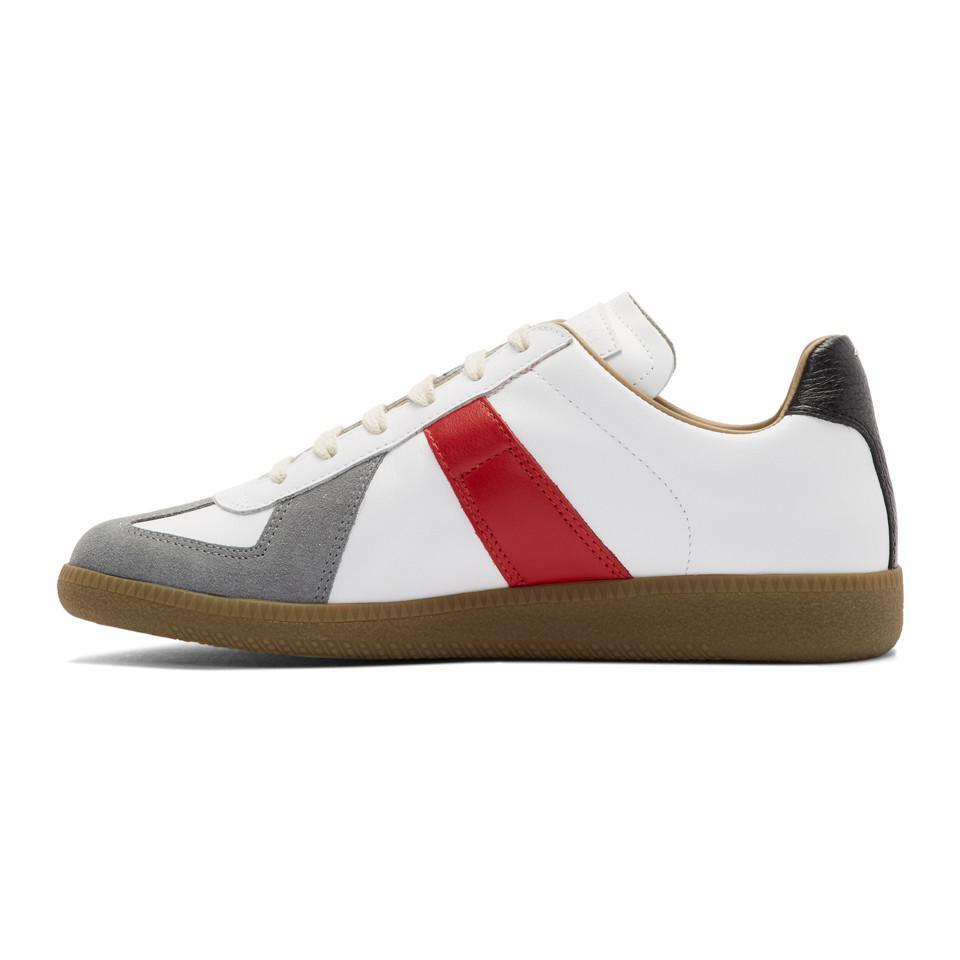 Maison Margiela Multicolor Colorblock Replica Sneakers nuyJz