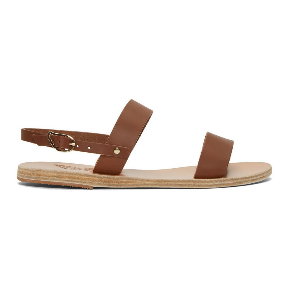 d5f0ef83a16a2f Lyst - Ancient Greek Sandals Brown Clio Sandals in Brown