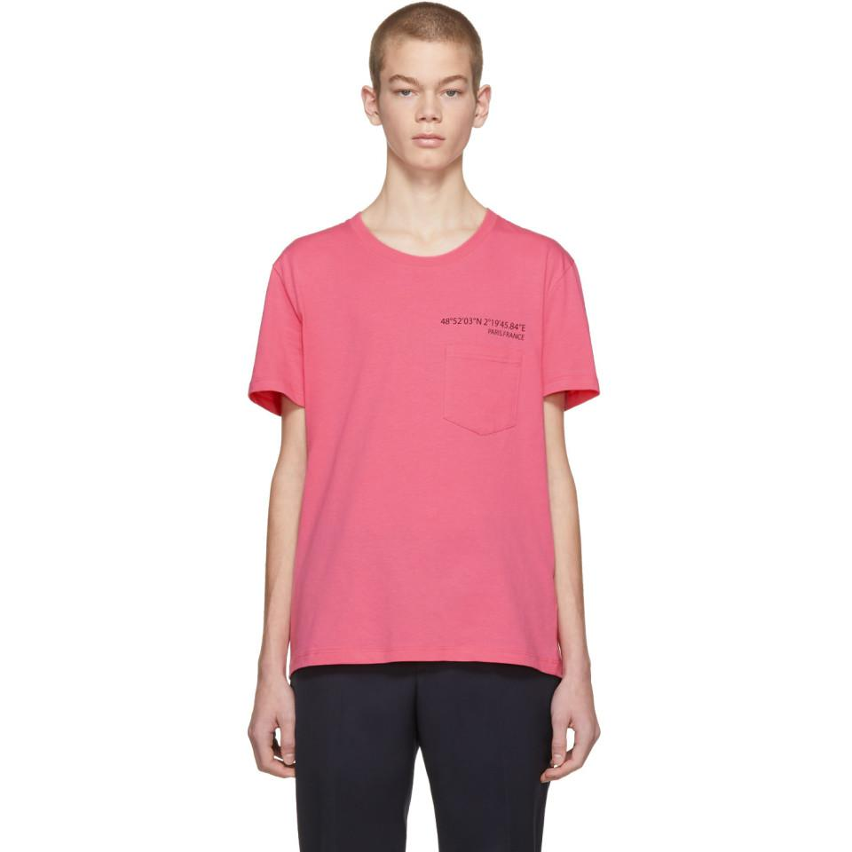 Pink Anywhen Coordinates Pocket T-Shirt Valentino Shop For Cheap Online With Credit Card For Sale BS1SS2N