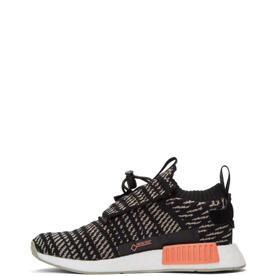 8154d5293 Lyst - adidas Originals Black And Beige Nmd-ts1 Pk Gtx Sneakers in ...