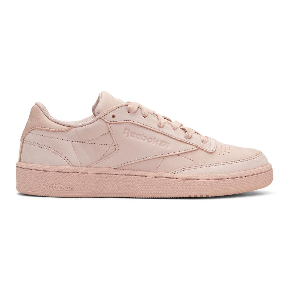 Saint Laurent Pink Club C 85 Rock Solid Sneakers QKrW03f