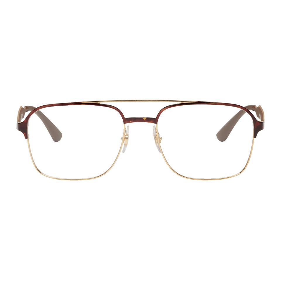 5d3263eeec canada ray ban rb8029k titane gold mirror aviator glasses 5e12b 58730