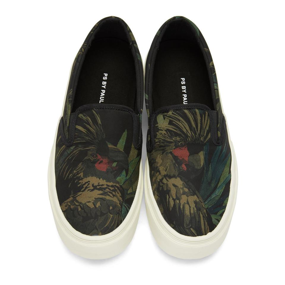 Black Cockatoo Clyde Slip-On Sneakers Paul Smith XLB0ao9