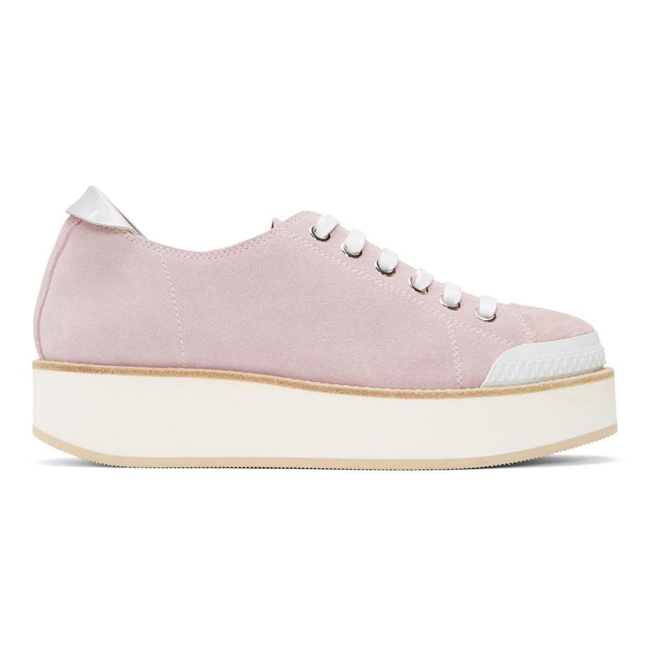 SSENSE Exclusive Pink Exclusive Tatum Suede Sneakers Flamingos Excellent For Sale Hot Sale For Sale tafN9C8uQ