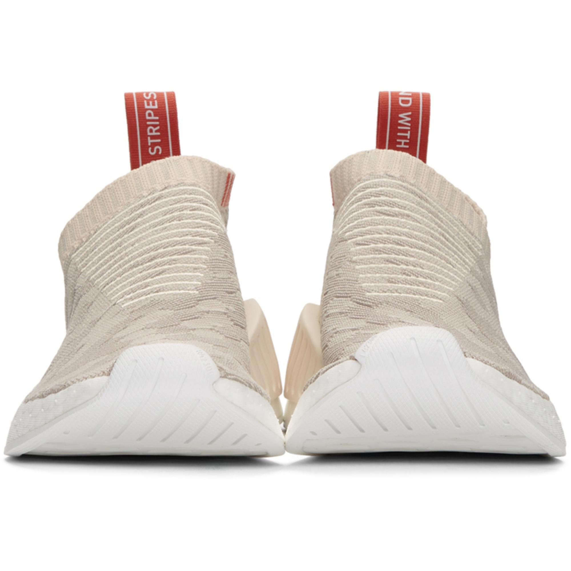 75b93a91f7936 Lyst - adidas Originals Beige And Grey Nmd Cs2 Pk Sneakers in Natural