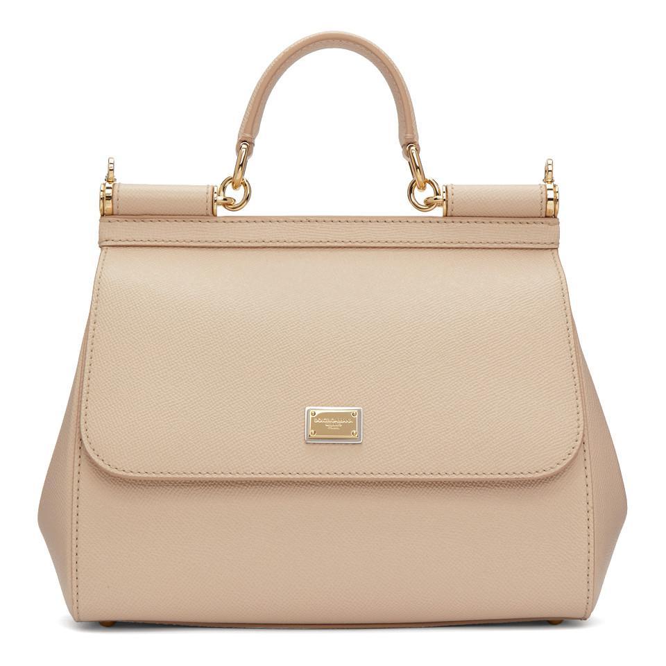 Dolce   Gabbana. Women s Pink Medium Miss Sicily Bag 12b07abf340