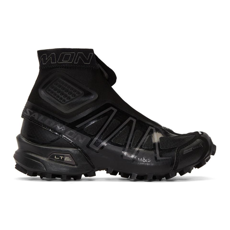 Adidas x Kolor Black Limited Edition S-Lab Wings 8 Sneakers JQEMNn