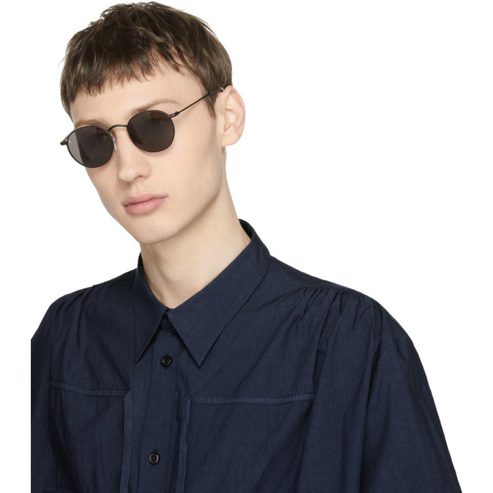 b11a2074e8 Lyst - Raen Black Benson 48 Sunglasses in Black