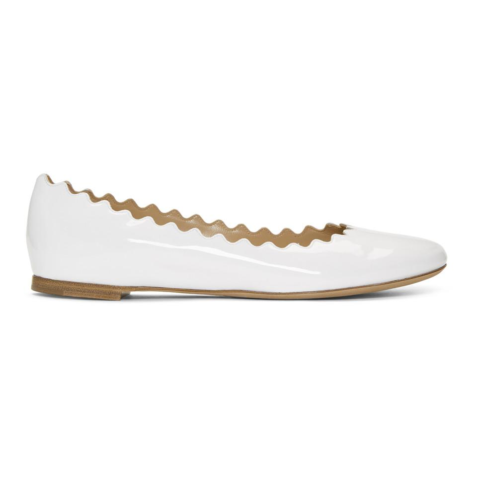 sale store latest collections online Chloé Ribbon Embellished Round-Toe Flats clearance footlocker finishline Ql0FD