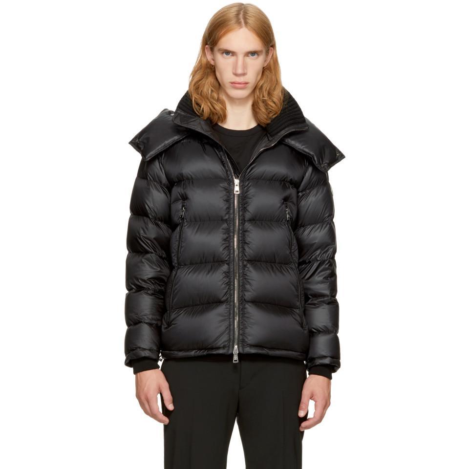 234213d3a Moncler Black Down Pascal Jacket in Black for Men - Lyst