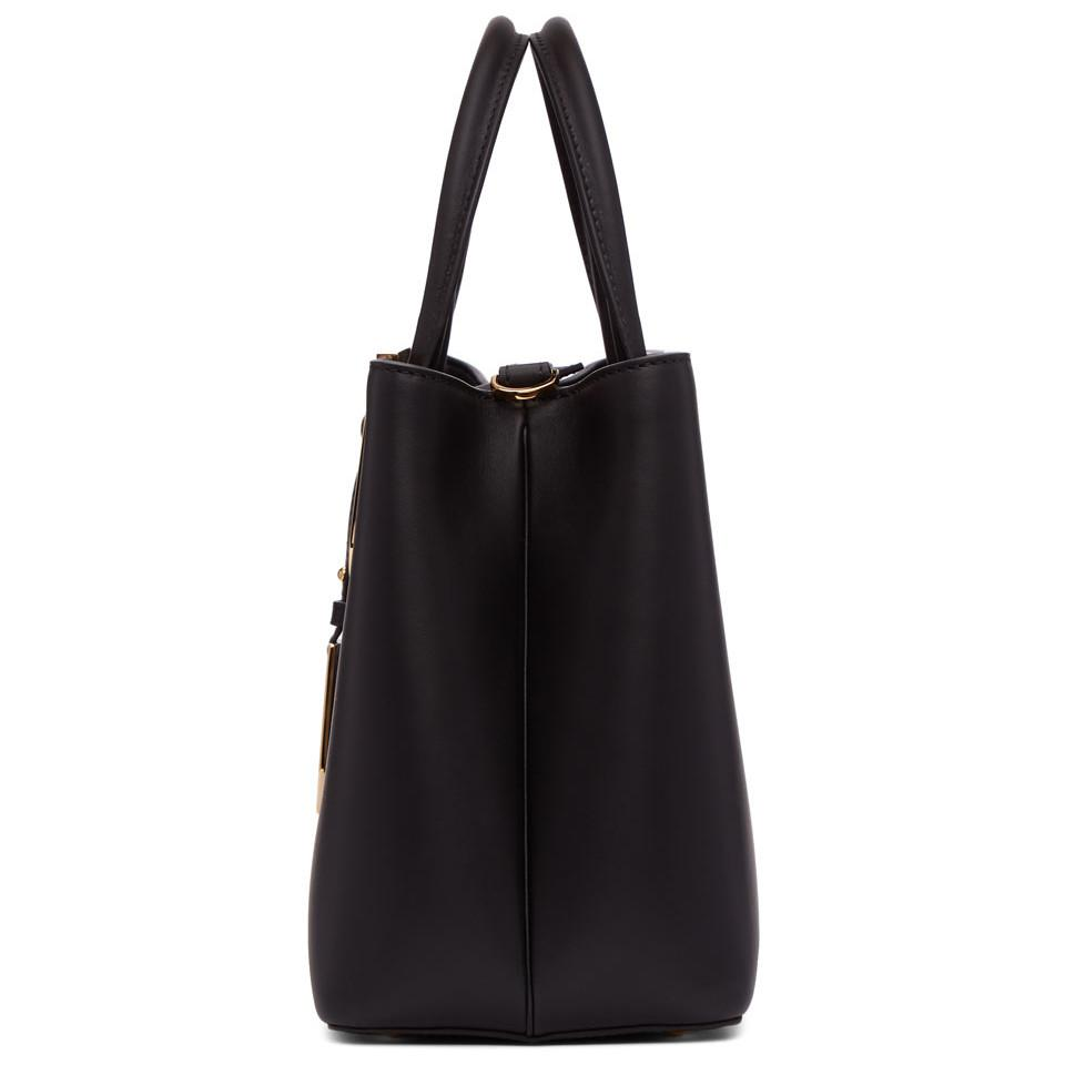 32f1d86d70 Lyst - Fendi Petite 2jours Bag Bugs Bag in Black