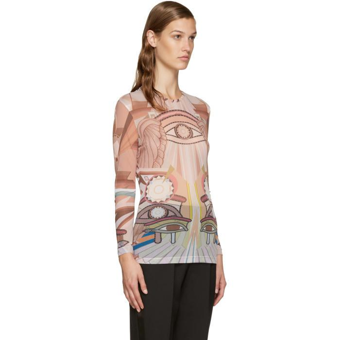 Original Cheap Price Shop Offer Online Multicolor Stargate Printed Top Givenchy 100% Original For Sale iEhiG
