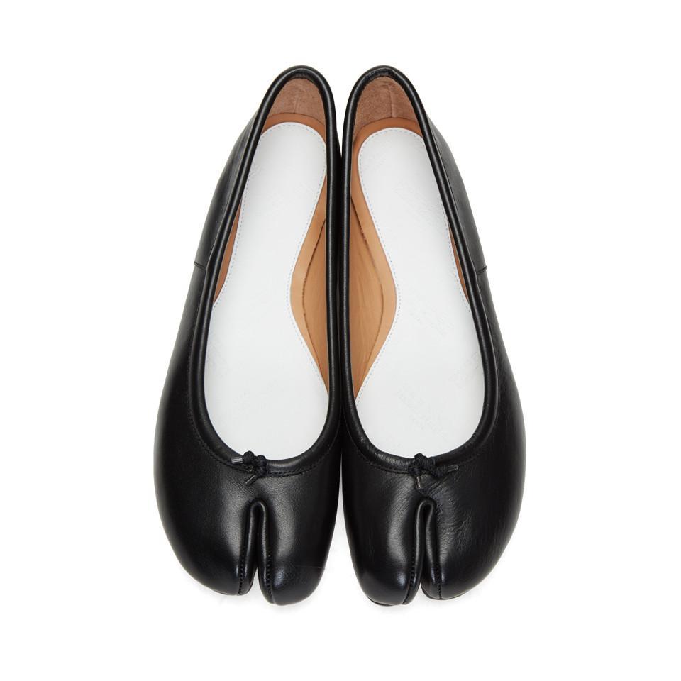 Maison Margiela Tabi Ballerina Flats - Black gRxfuYPc