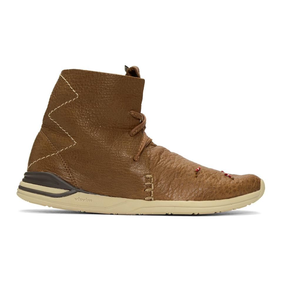 VISVIM Huron Moc High-Top Sneakers sdSU1Ynd