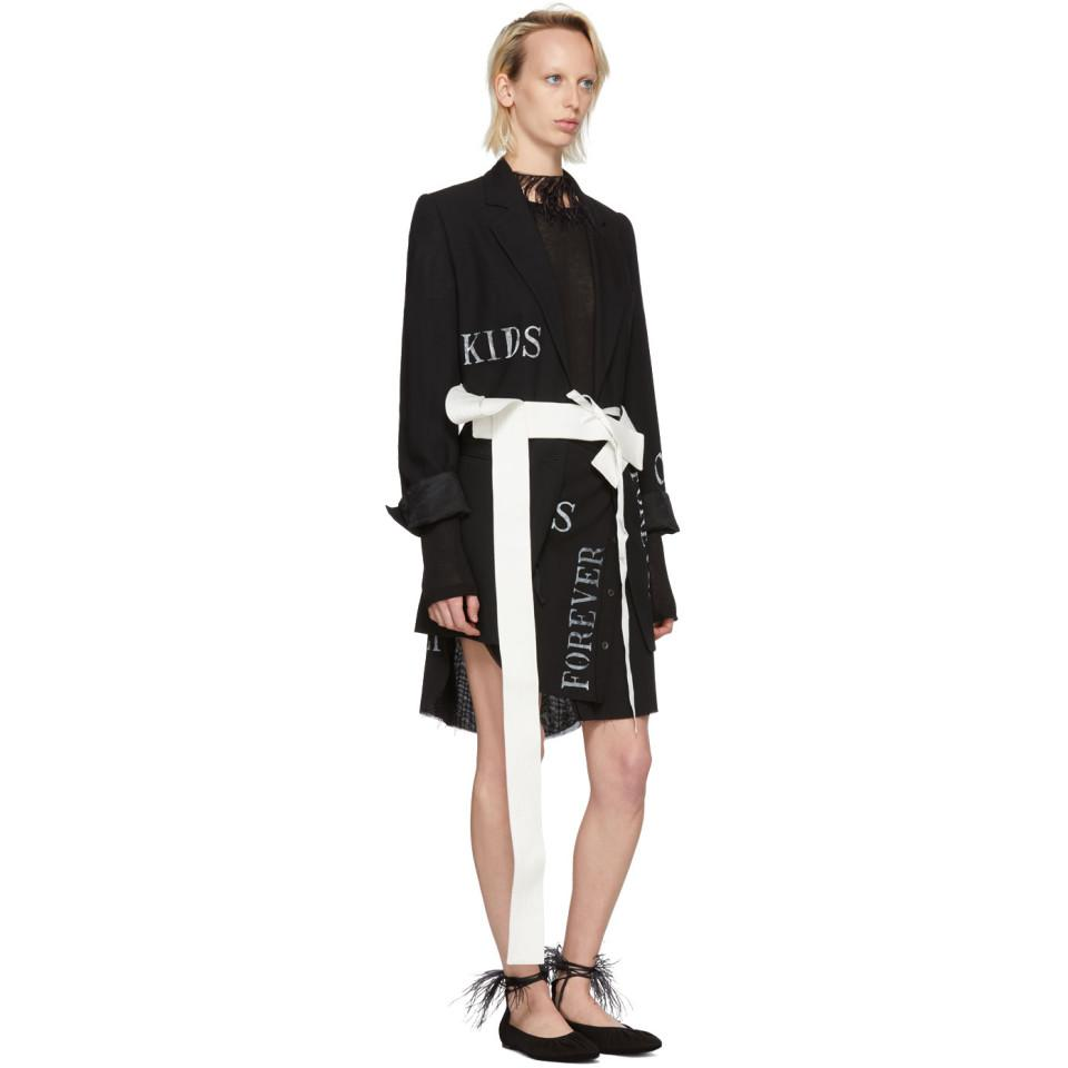 Off-White Topstitched Belt Ann Demeulemeester 17TkRbswZ