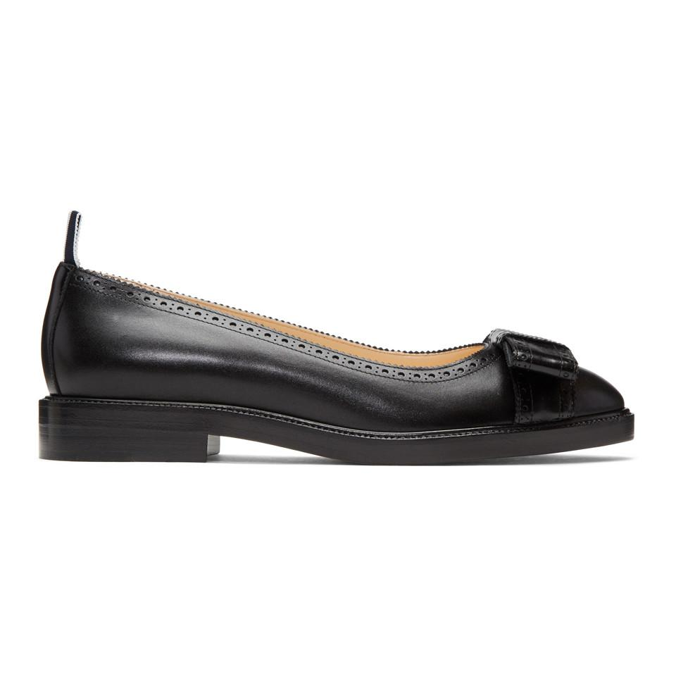 ankle strap ballerinas - Black Thom Browne EClNh95Sby