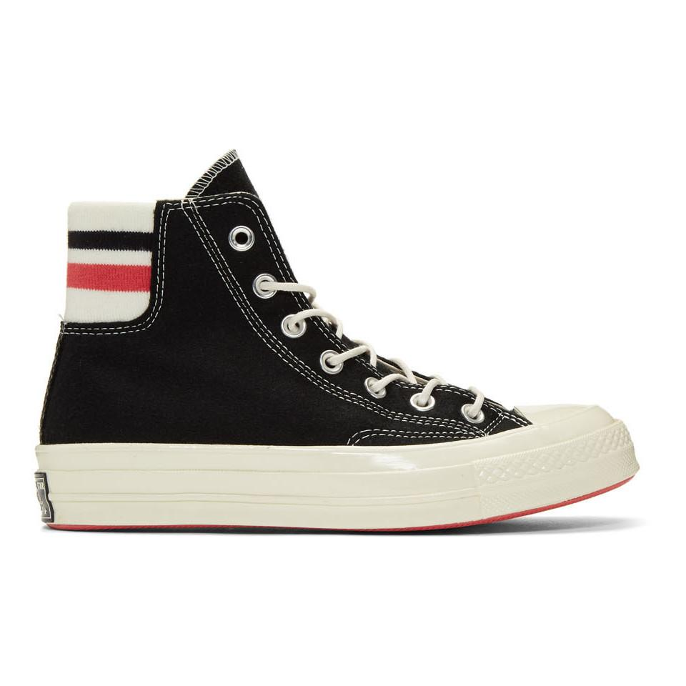 aa042d3418b1df Lyst - Converse Knit Back Chuck 70 High Sneakers in Black for Men ...