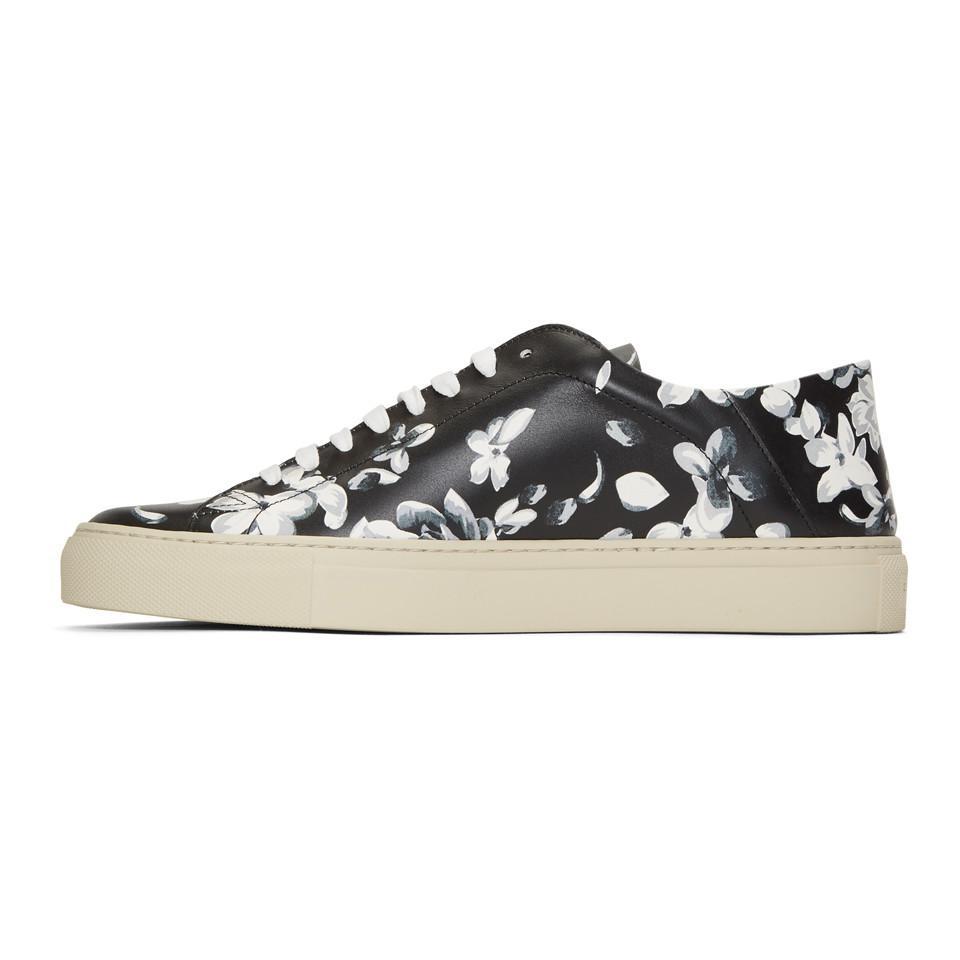 Givenchy& Grey Urban Street Floral Sneakers qSJBi