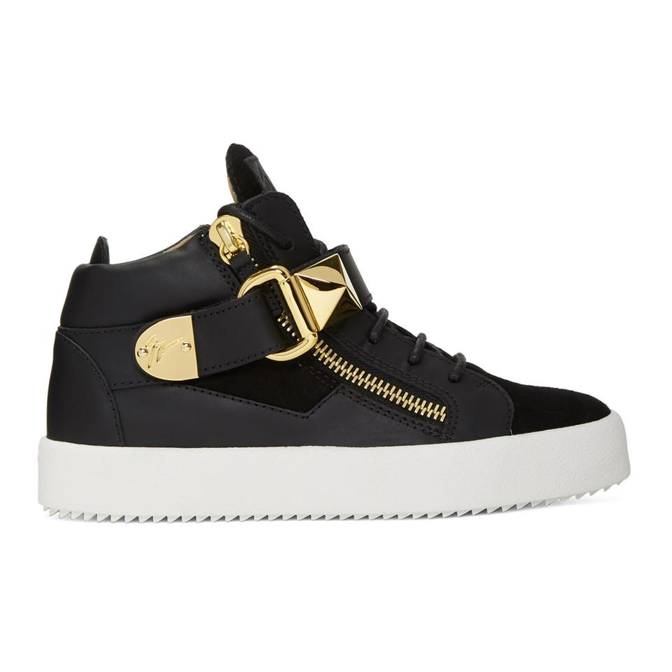Giuseppe Zanotti SSENSE Exclusive Black May London Donna High-Top Sneakers bXrw9