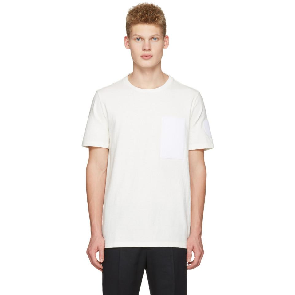 Off-White Velcro Patch T-Shirt Maison Martin Margiela Pay With Visa Good Selling Cheap Online Outlet With Paypal Order Online 5xMwhz