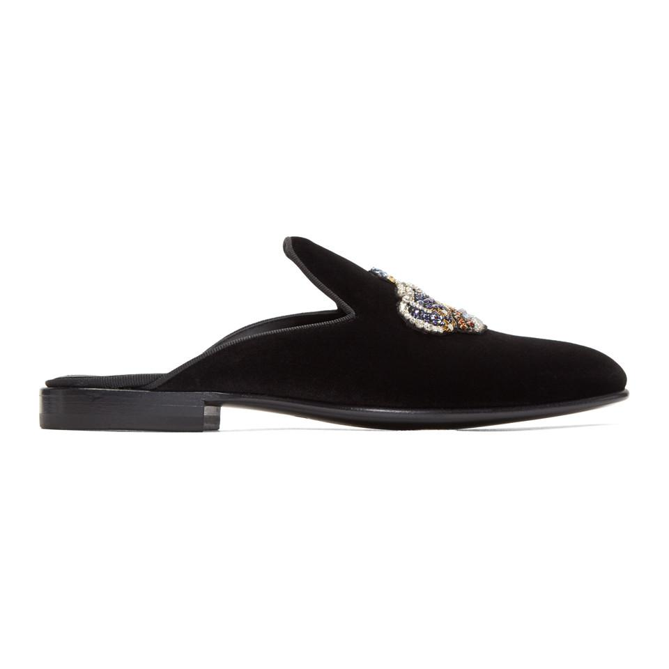 VERSACE Crown Open Loafers Fr9arH0I