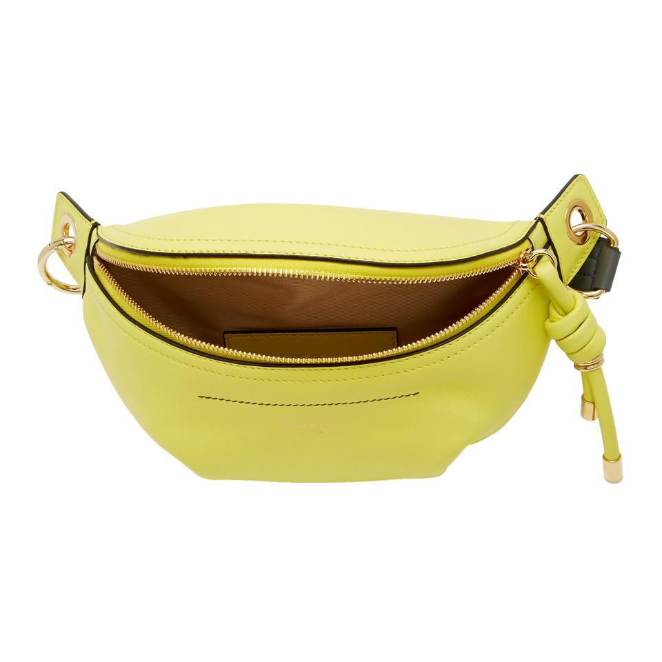 766fff89d0 Givenchy - Yellow Small Whip Belt Bag - Lyst. View fullscreen